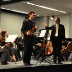 Tomáš Vinklát, Paul Mauffray, Slovak Sinfonietta Žilina (© F.Linke)
