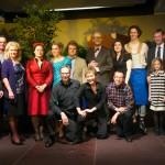 Ensemble und Ehrengäste