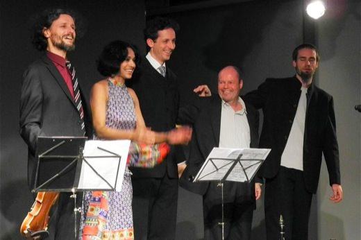 Dezember 2012, Advent mit Klassik, Folk und Worldmusic (Marialena Fernandes und Hotel Palindrone)
